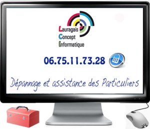 Depannage, assistance et conseil informatique en Lauragais